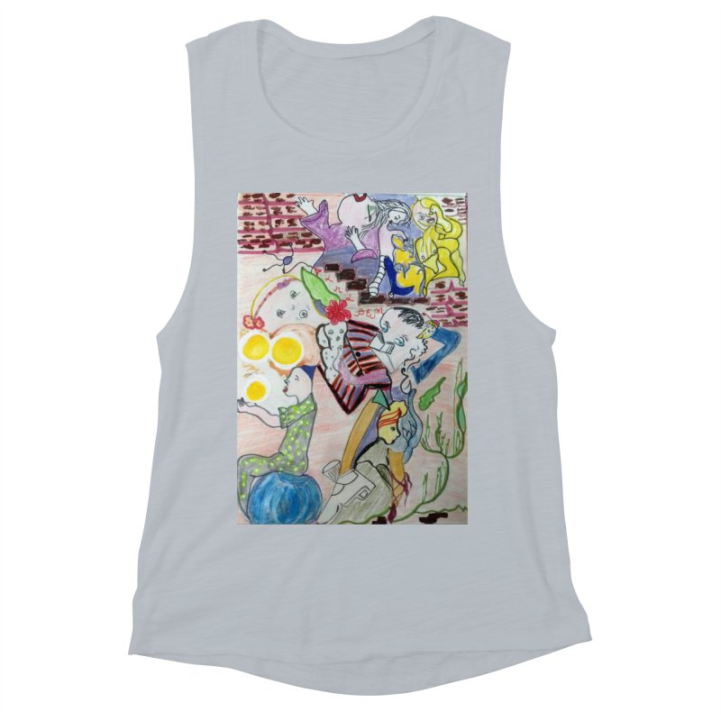 casting V. All of us Women's Muscle Tank by Darabem's Artist Shop. Darabem Collection