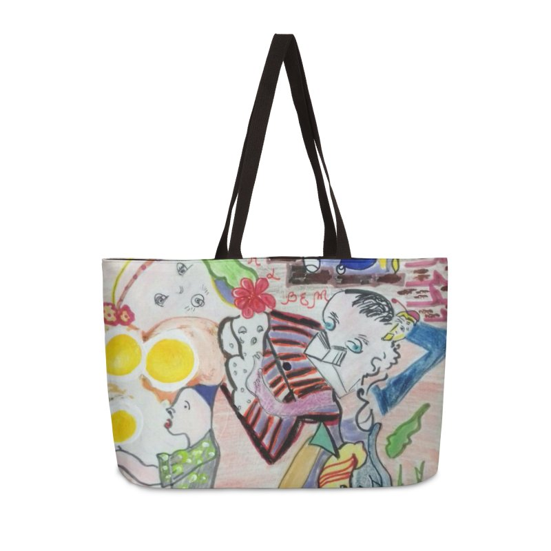 casting V. All of us Accessories Weekender Bag Bag by Darabem's Artist Shop. Darabem Collection