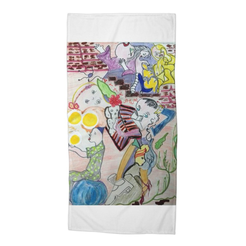 casting V. All of us Accessories Beach Towel by Darabem's Artist Shop. Darabem Collection