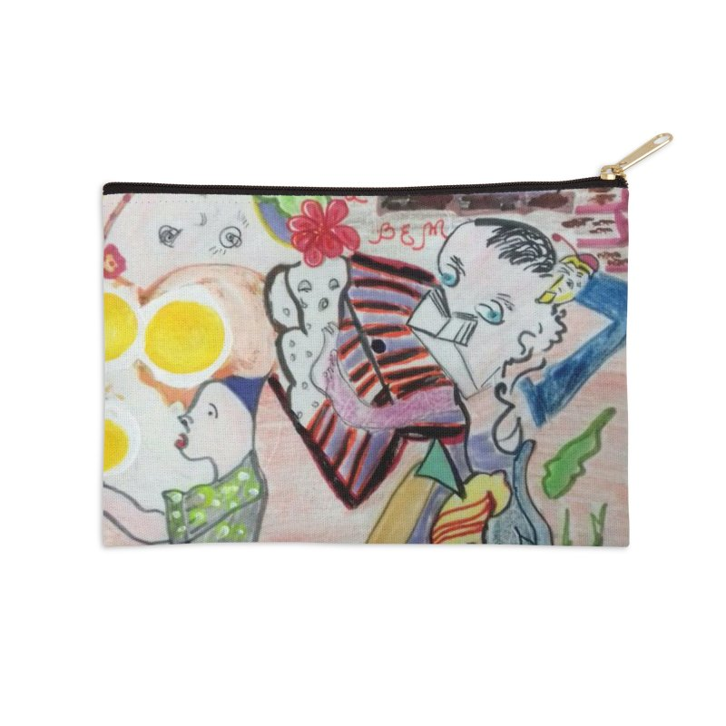 casting V. All of us Accessories Zip Pouch by Darabem's Artist Shop. Darabem Collection