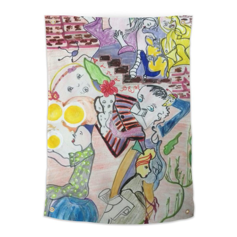 casting V. All of us Home Tapestry by Darabem's Artist Shop. Darabem Collection