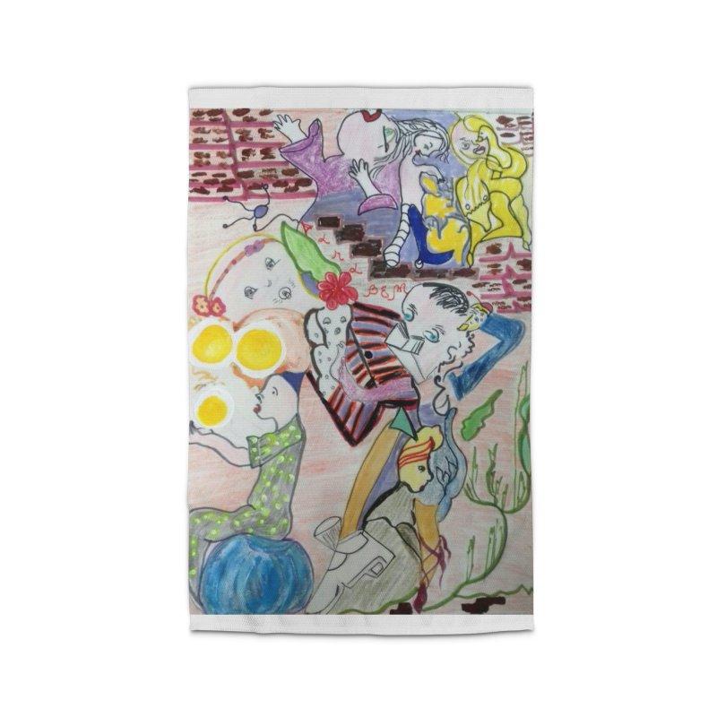 casting V. All of us Home Rug by Darabem's Artist Shop. Darabem Collection