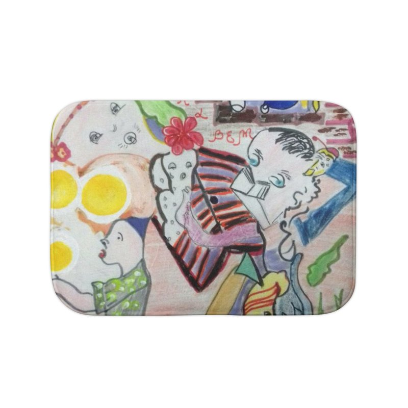 casting V. All of us Home Bath Mat by Darabem's Artist Shop. Darabem Collection