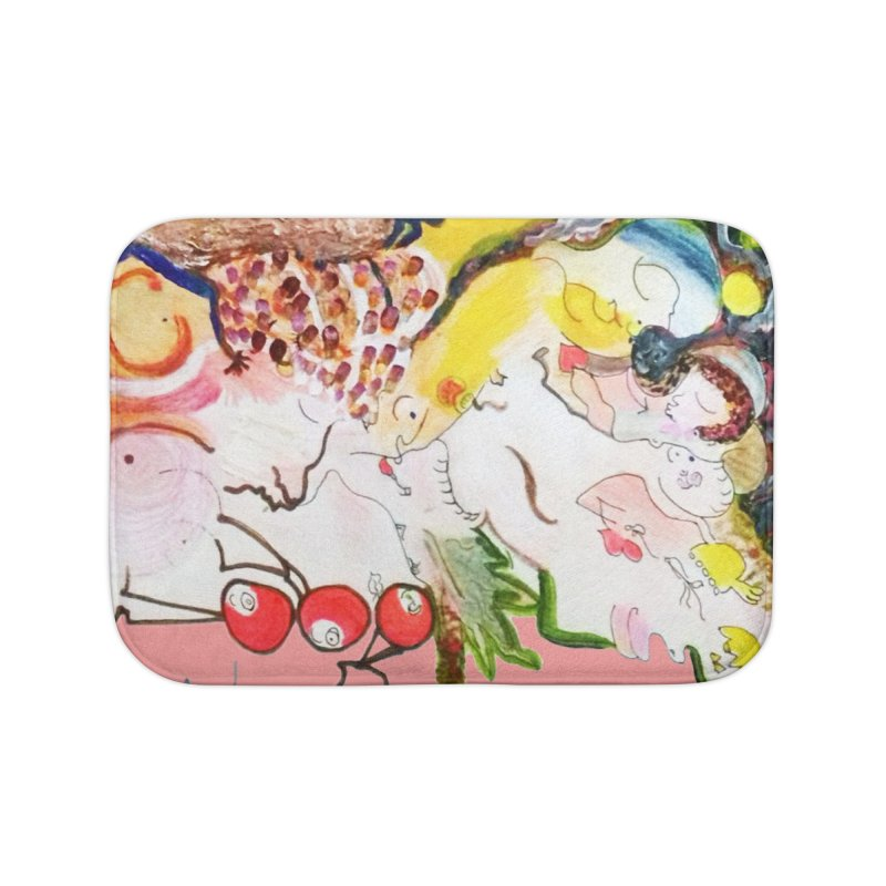 Autumns Home Bath Mat by Darabem's Artist Shop. Darabem Collection