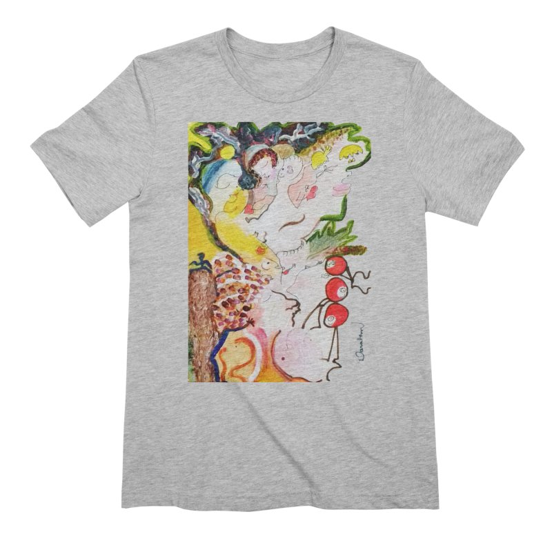 Autumns Men's Extra Soft T-Shirt by Darabem's Artist Shop. Darabem Collection