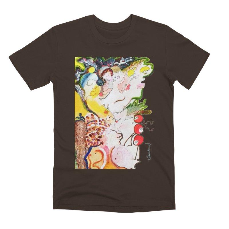 Autumns Men's Premium T-Shirt by Darabem's Artist Shop. Darabem Collection
