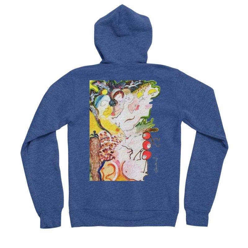 Autumns Women's Sponge Fleece Zip-Up Hoody by Darabem's Artist Shop. Darabem Collection