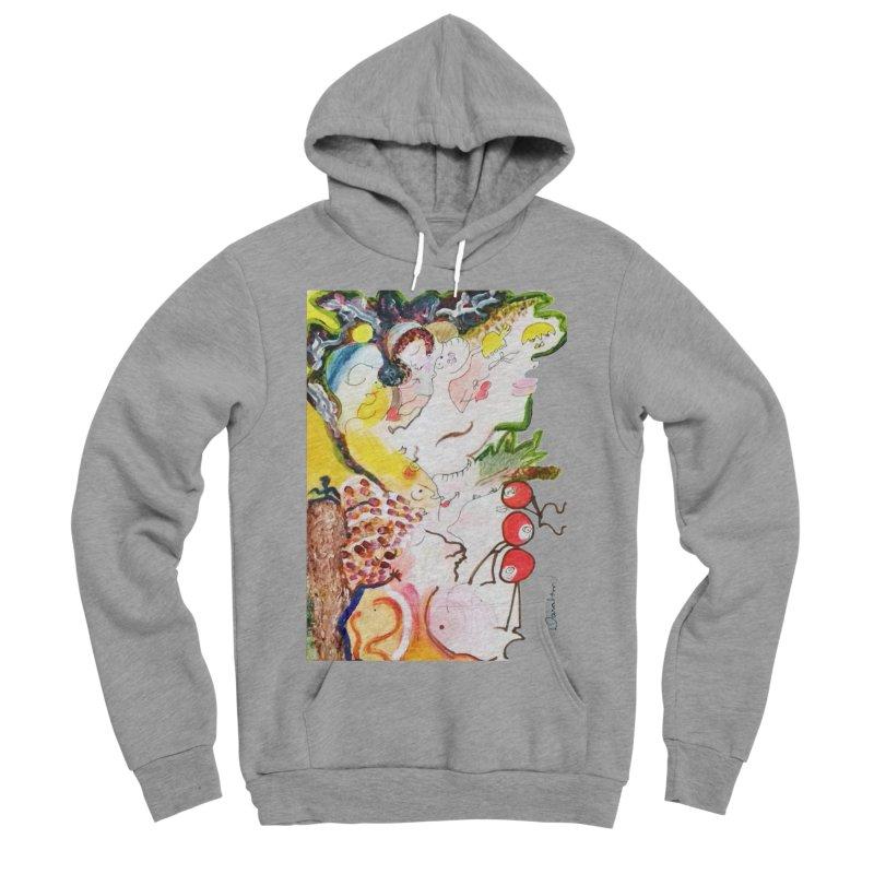 Autumns Men's Sponge Fleece Pullover Hoody by Darabem's Artist Shop. Darabem Collection