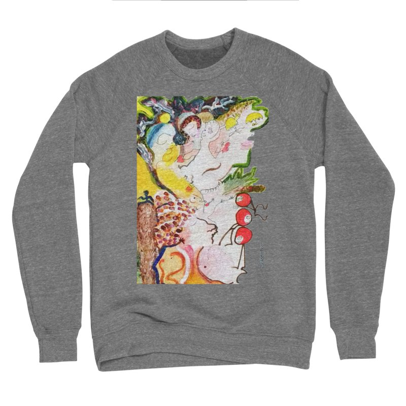 Autumns Men's Sponge Fleece Sweatshirt by Darabem's Artist Shop. Darabem Collection