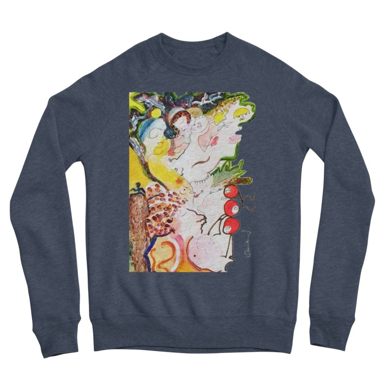 Autumns Women's Sponge Fleece Sweatshirt by Darabem's Artist Shop. Darabem Collection