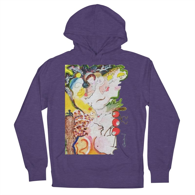 Autumns Women's French Terry Pullover Hoody by Darabem's Artist Shop. Darabem Collection