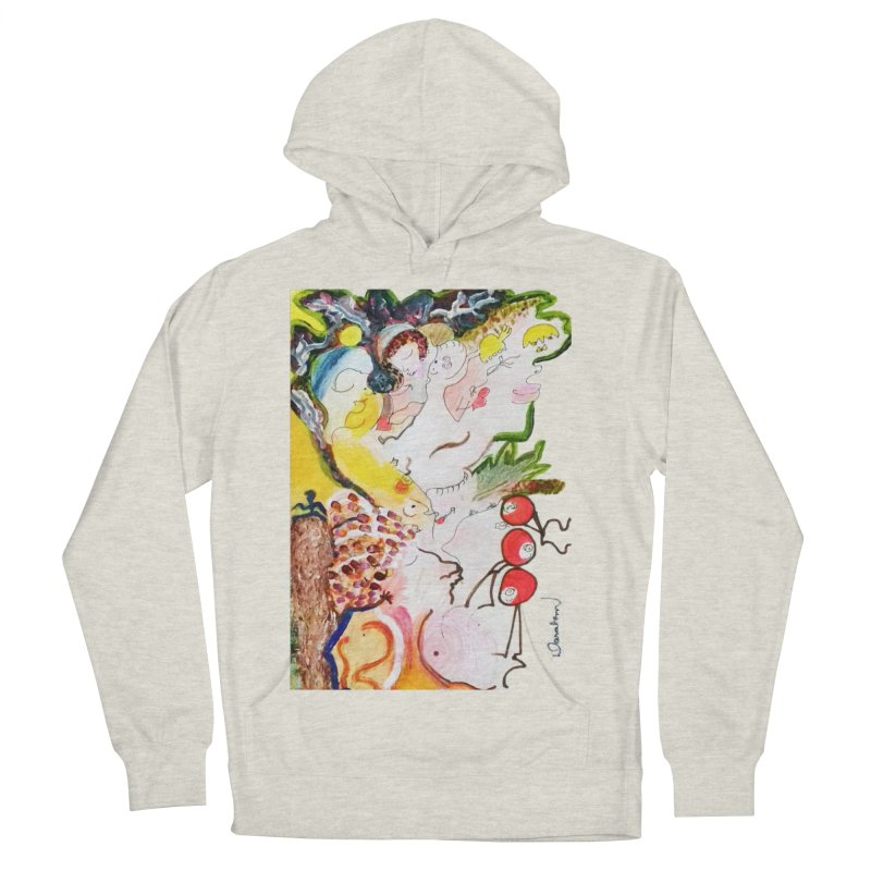 Autumns Men's French Terry Pullover Hoody by Darabem's Artist Shop. Darabem Collection
