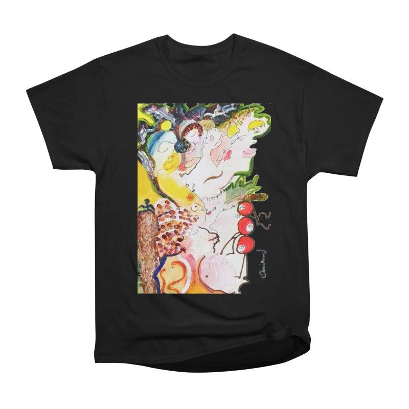 Autumns Men's Heavyweight T-Shirt by Darabem's Artist Shop. Darabem Collection
