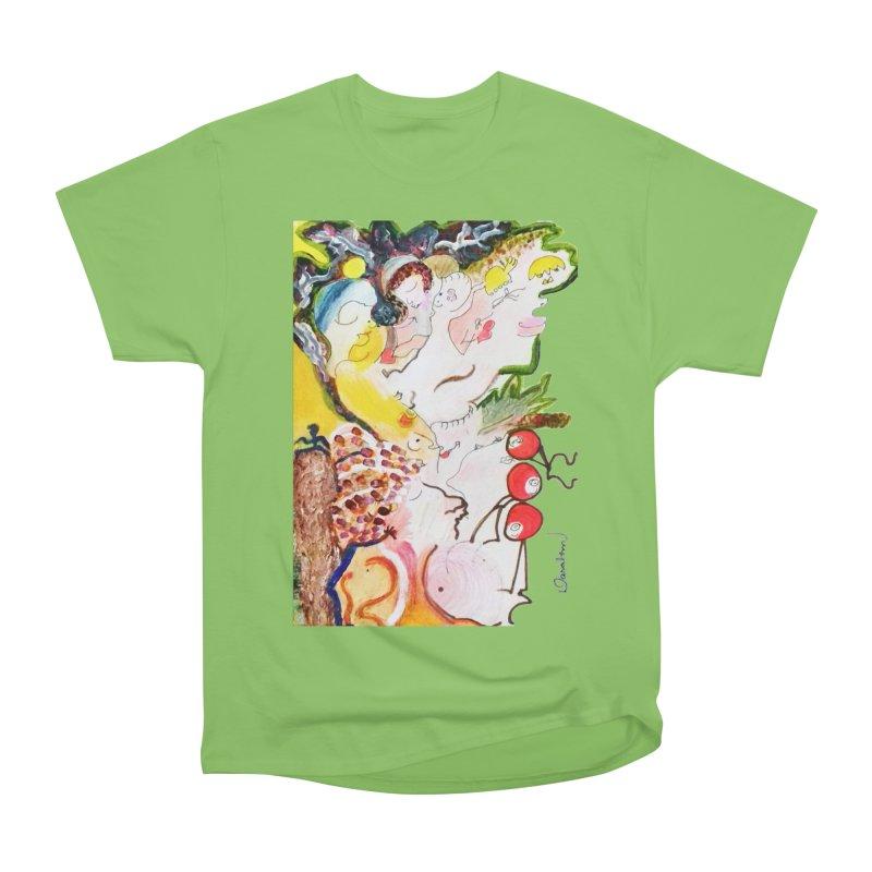 Autumns Women's Heavyweight Unisex T-Shirt by Darabem's Artist Shop. Darabem Collection