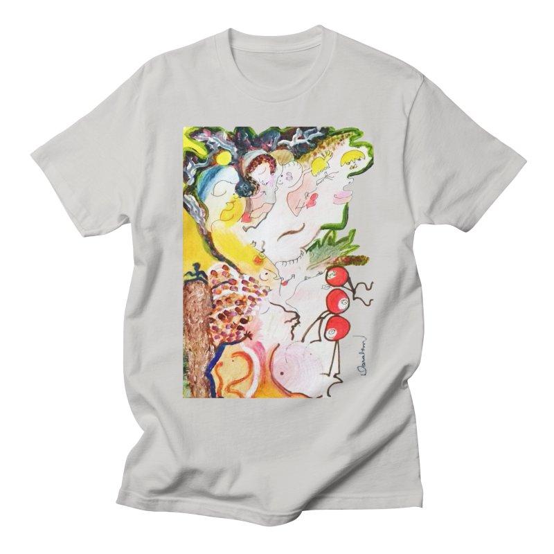 Autumns Women's Regular Unisex T-Shirt by Darabem's Artist Shop. Darabem Collection