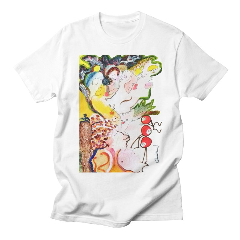 Autumns Women's Regular Unisex T-Shirt by Darabem's Artist Shop. Darabem Collection