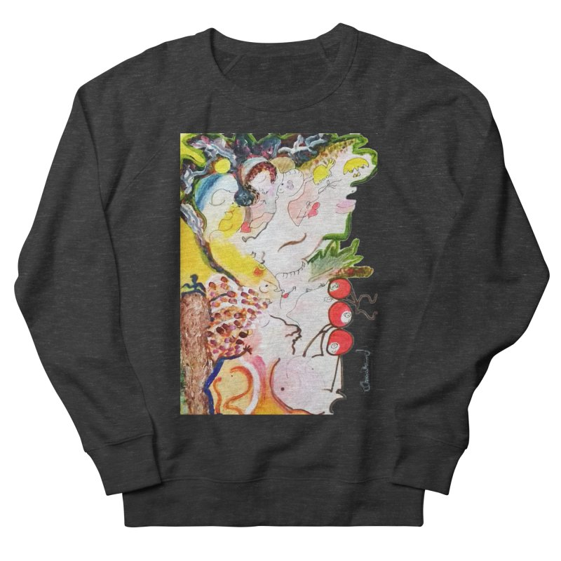 Autumns Women's French Terry Sweatshirt by Darabem's Artist Shop. Darabem Collection