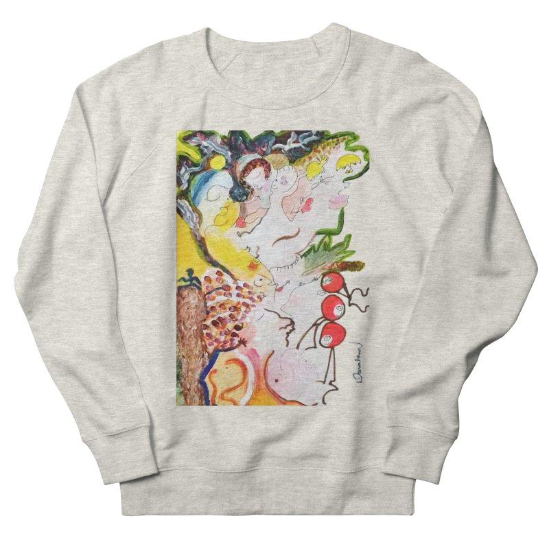 Autumns Men's French Terry Sweatshirt by Darabem's Artist Shop. Darabem Collection