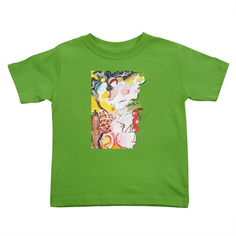 Autumns Kids Toddler T-Shirt by Darabem's Artist Shop. Darabem Collection