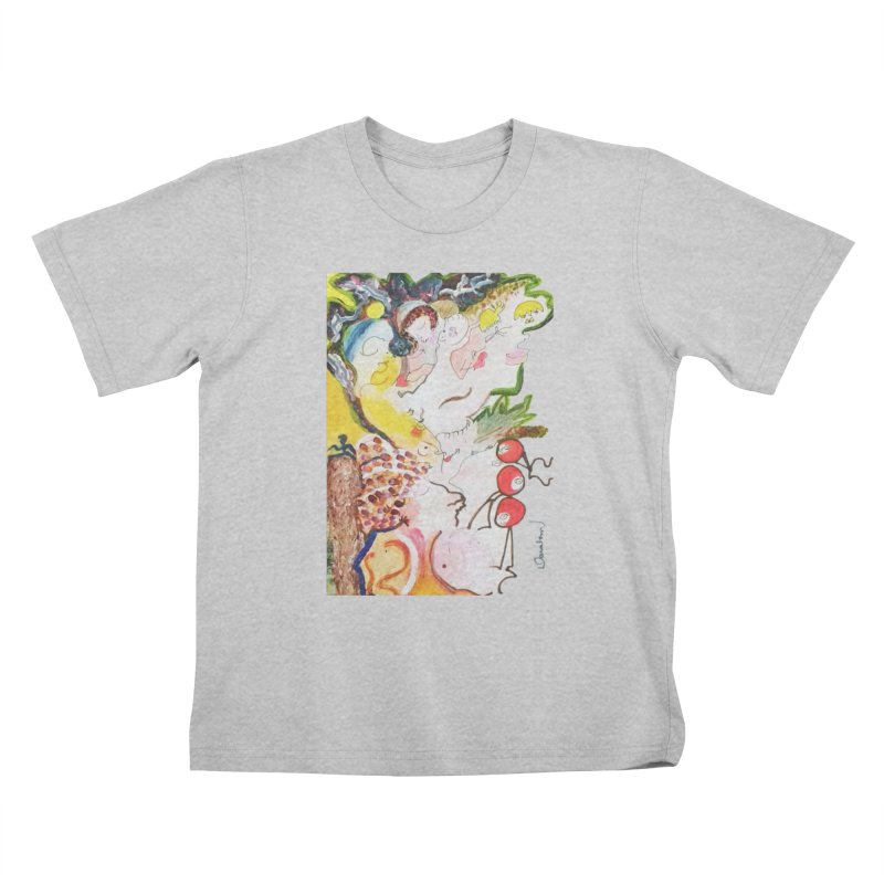 Autumns Kids T-Shirt by Darabem's Artist Shop. Darabem Collection