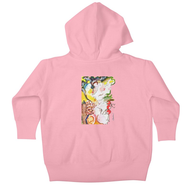Autumns Kids Baby Zip-Up Hoody by Darabem's Artist Shop. Darabem Collection