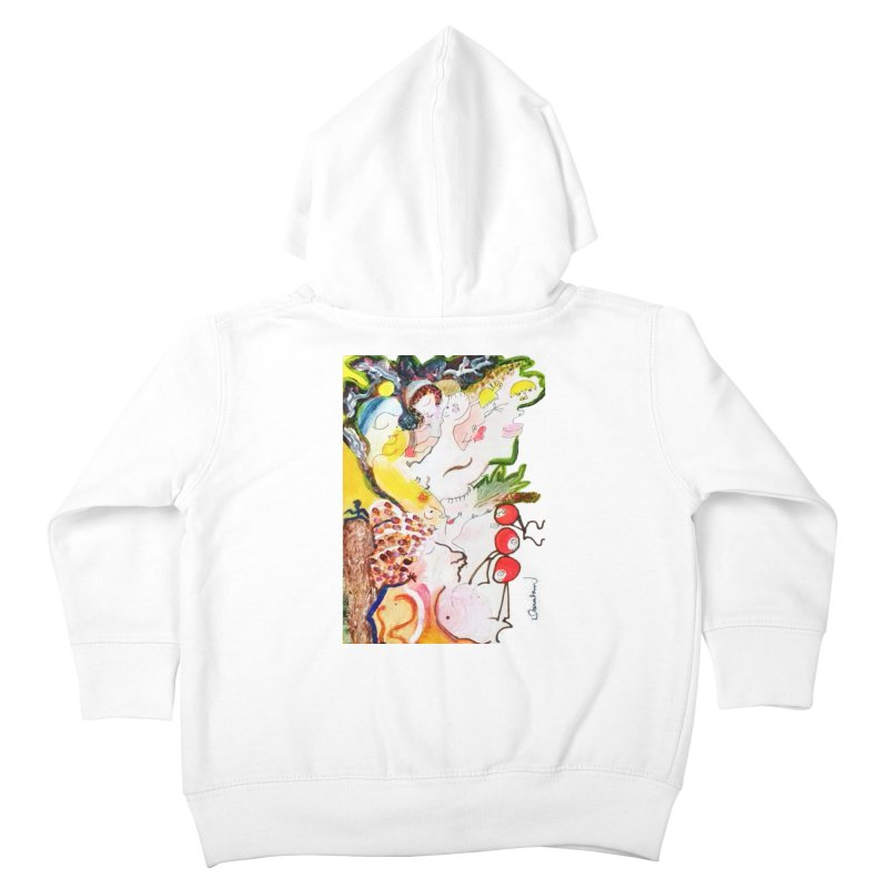 Autumns Kids Toddler Zip-Up Hoody by Darabem's Artist Shop. Darabem Collection