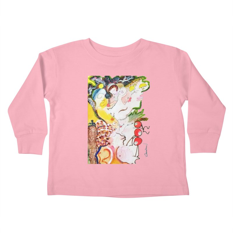 Autumns Kids Toddler Longsleeve T-Shirt by Darabem's Artist Shop. Darabem Collection