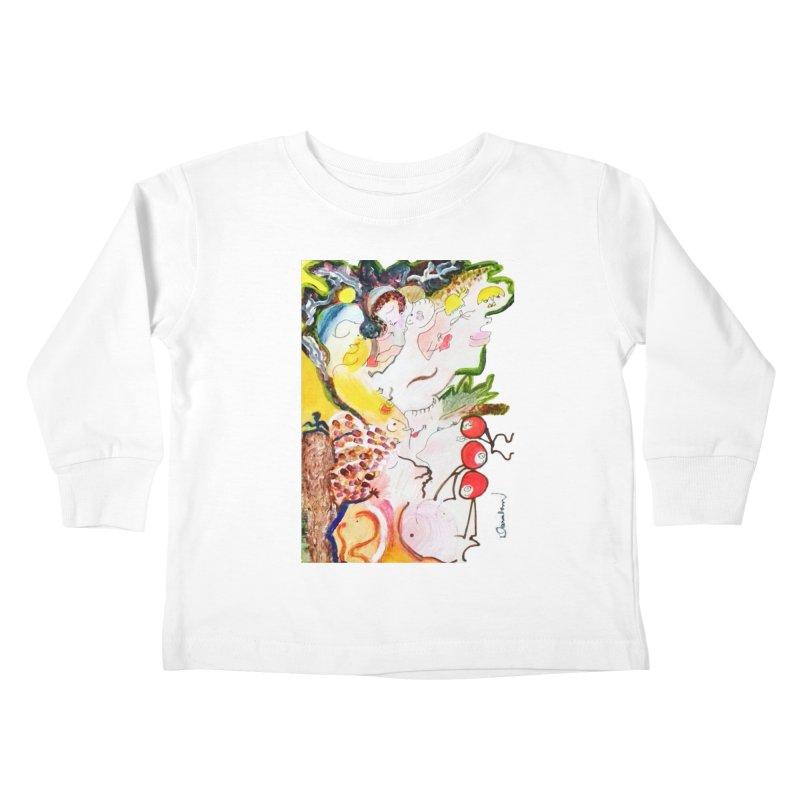 Autumns Kids Toddler Longsleeve T-Shirt by Darabem's Artist Shop. Darabem Collection