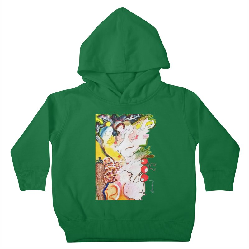 Autumns Kids Toddler Pullover Hoody by Darabem's Artist Shop. Darabem Collection