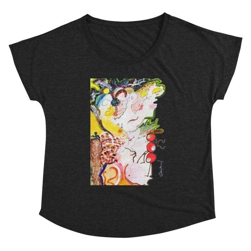 Autumns Women's Scoop Neck by Darabem's Artist Shop. Darabem Collection