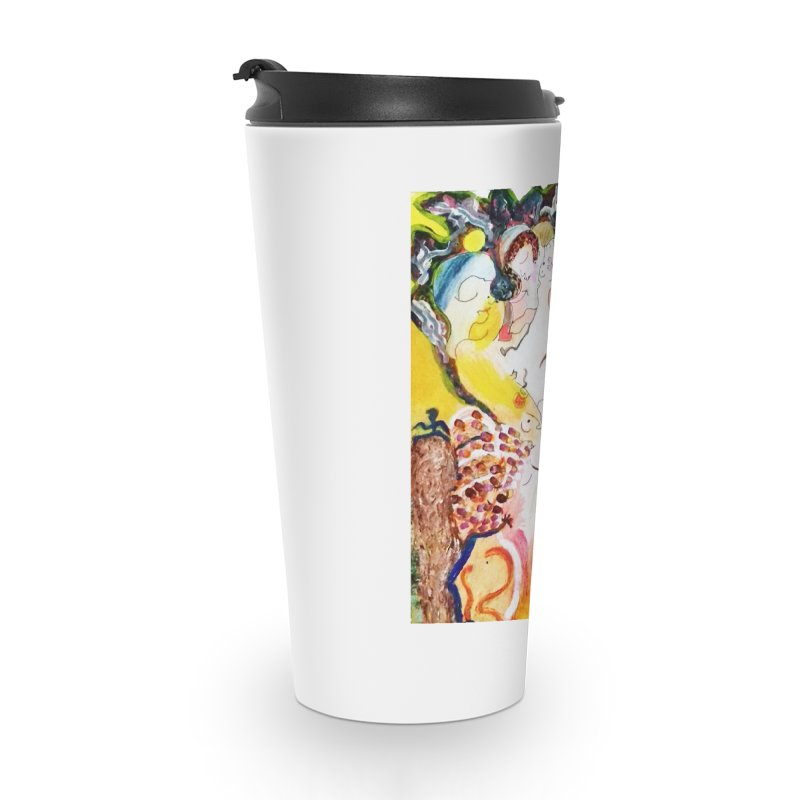 Autumns Accessories Travel Mug by Darabem's Artist Shop. Darabem Collection