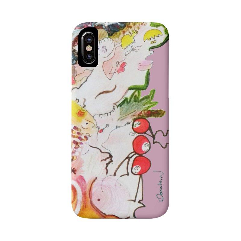 Autumns Accessories Phone Case by Darabem's Artist Shop. Darabem Collection