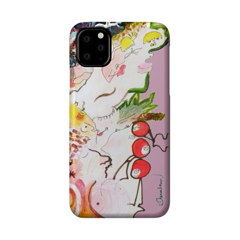 Autumns Accessories Phone Case by Darabem's Artist Shop. Darabem Collection