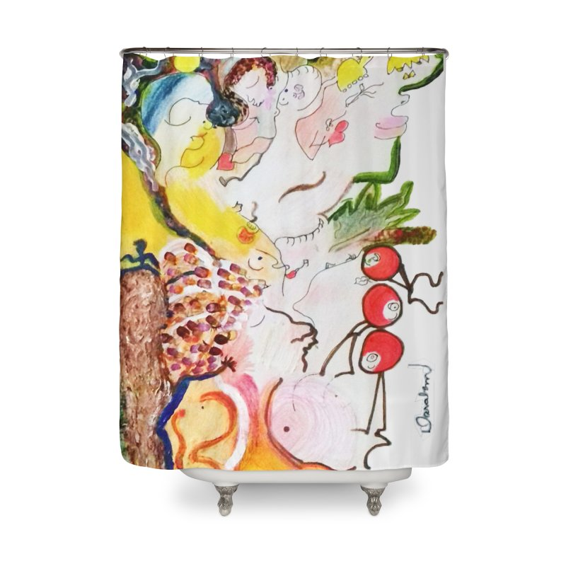 Autumns Home Shower Curtain by Darabem's Artist Shop. Darabem Collection