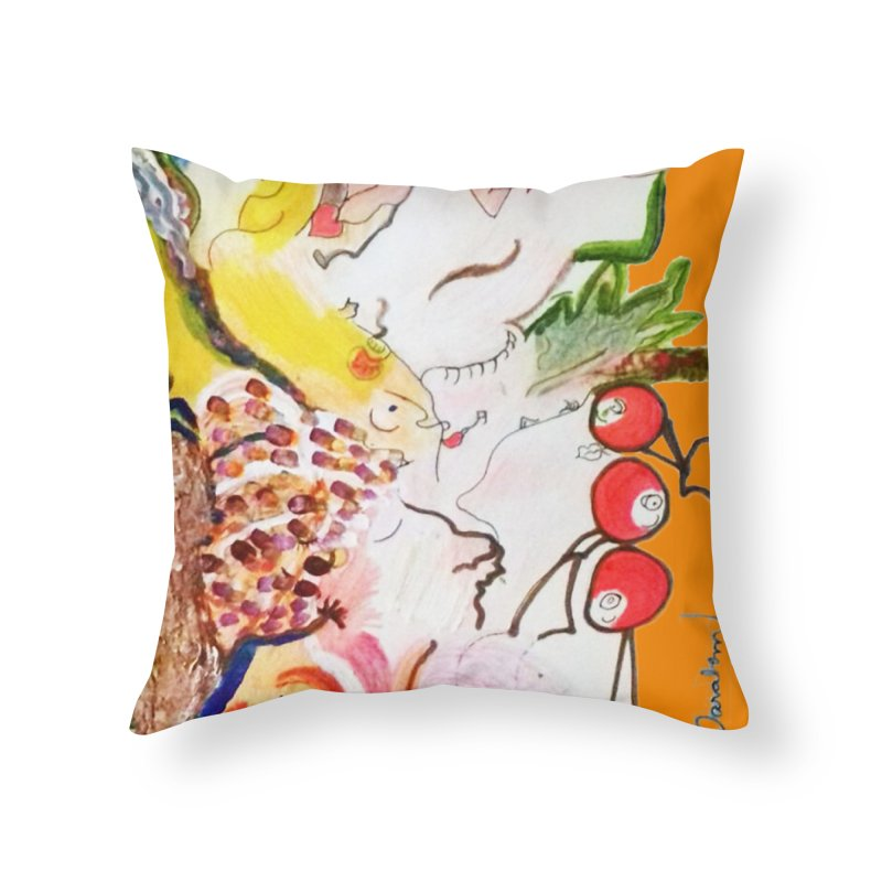 Autumns Home Throw Pillow by Darabem's Artist Shop. Darabem Collection
