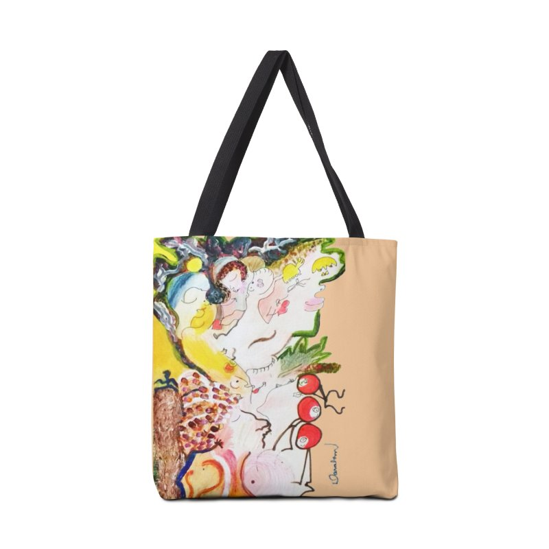 Autumns Accessories Tote Bag Bag by Darabem's Artist Shop. Darabem Collection