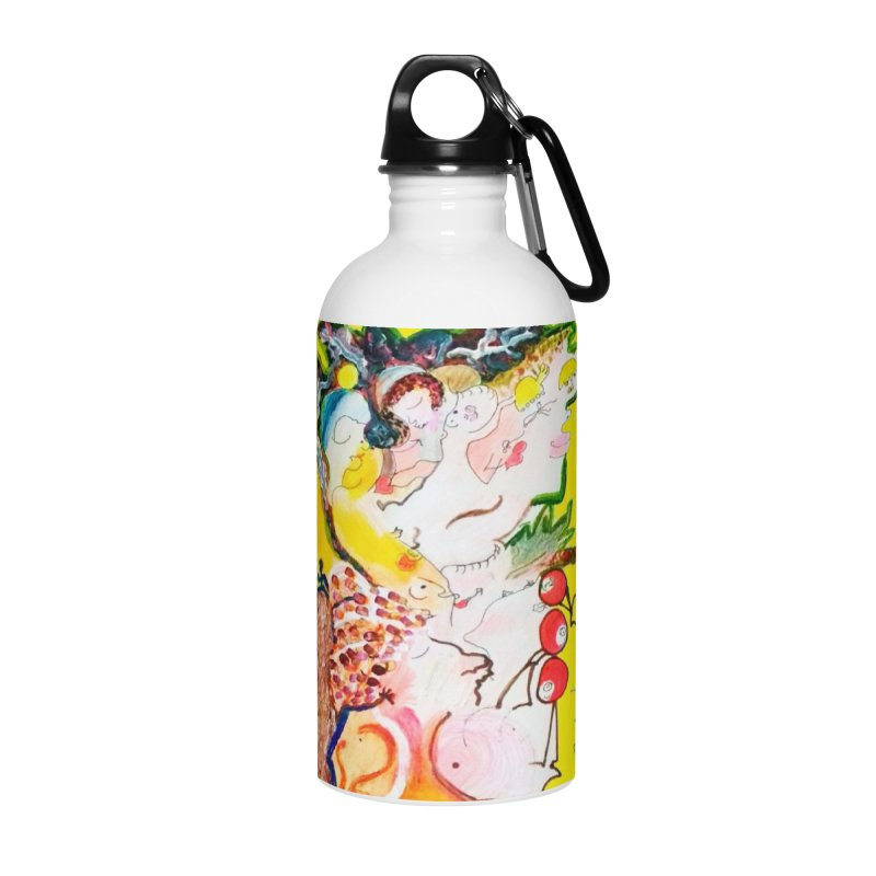 Autumns Accessories Water Bottle by Darabem's Artist Shop. Darabem Collection
