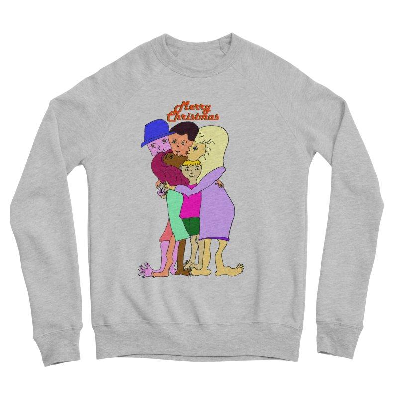 Family Christmas Men's Sponge Fleece Sweatshirt by Darabem's Artist Shop. Darabem Collection