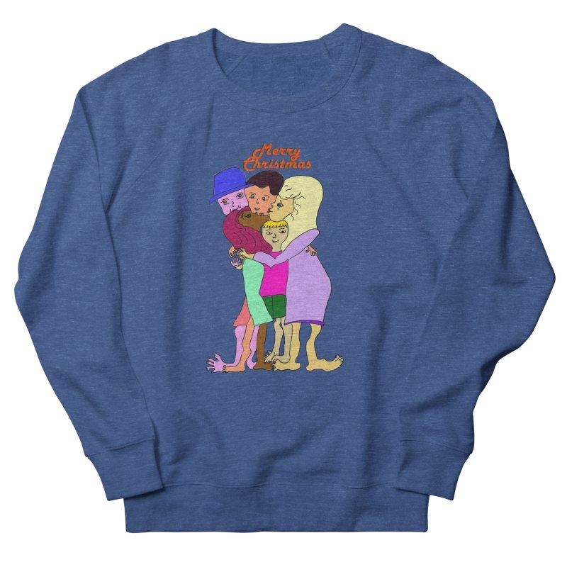 Family Christmas Men's Sweatshirt by Darabem's Artist Shop. Darabem Collection