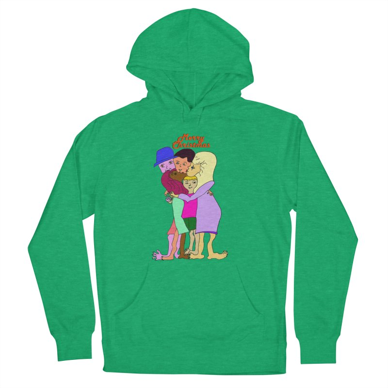 Family Christmas Men's Pullover Hoody by Darabem's Artist Shop. Darabem Collection