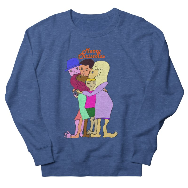 Family Christmas Men's Sweatshirt by Darabem's Artist Shop. Darabem Collection