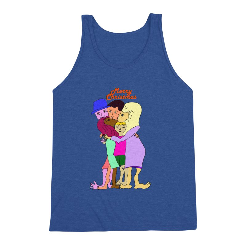 Family Christmas Men's Tank by Darabem's Artist Shop. Darabem Collection