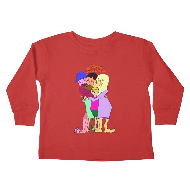 Family Christmas Kids Toddler Longsleeve T-Shirt by Darabem's Artist Shop. Darabem Collection