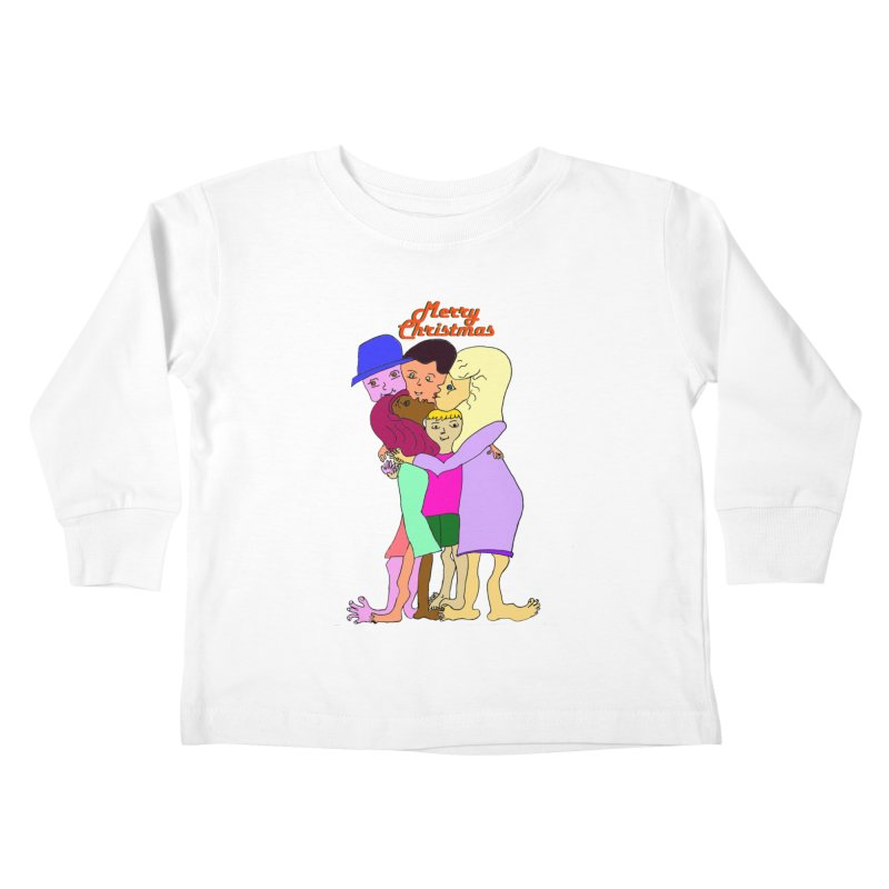Family Christmas Kids Toddler Longsleeve T-Shirt by Darabem's Artist Shop. Darabem Collection