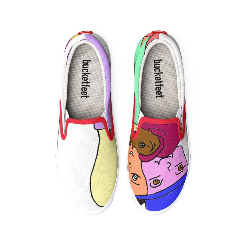 Family Christmas Men's Shoes by Darabem's Artist Shop. Darabem Collection