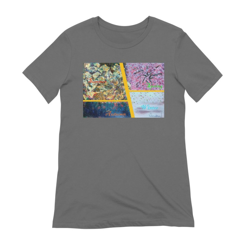 The Four Seasons Matsuo Basho Women's T-Shirt by Darabem's Artist Shop. Darabem Collection