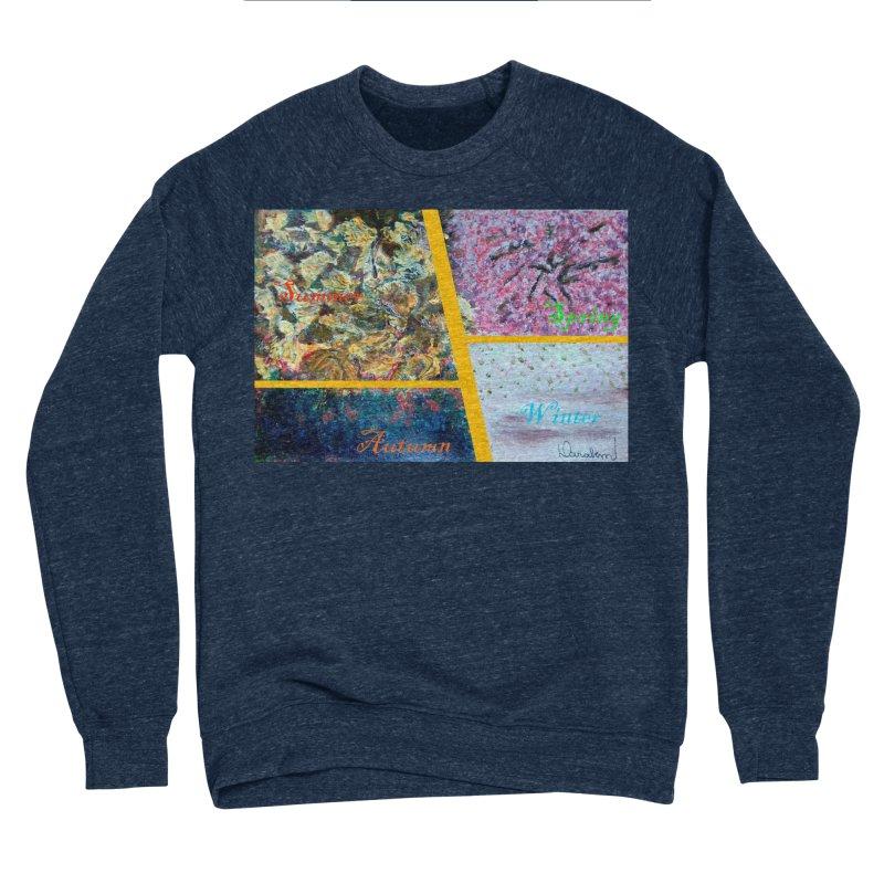 The Four Seasons Matsuo Basho Women's Sponge Fleece Sweatshirt by Darabem's Artist Shop. Darabem Collection