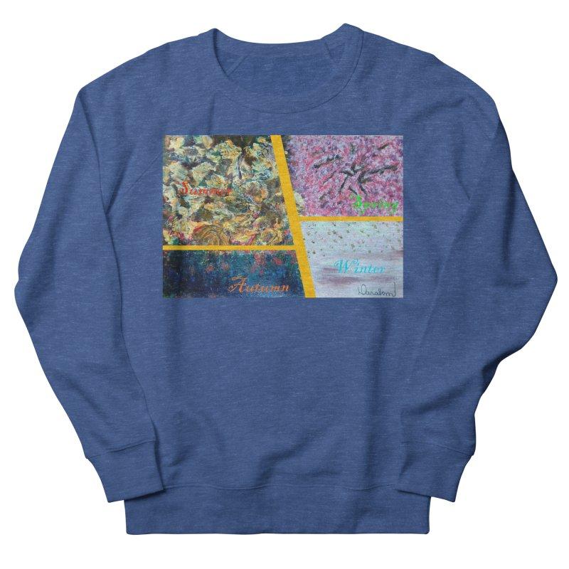 The Four Seasons Matsuo Basho Men's Sweatshirt by Darabem's Artist Shop. Darabem Collection