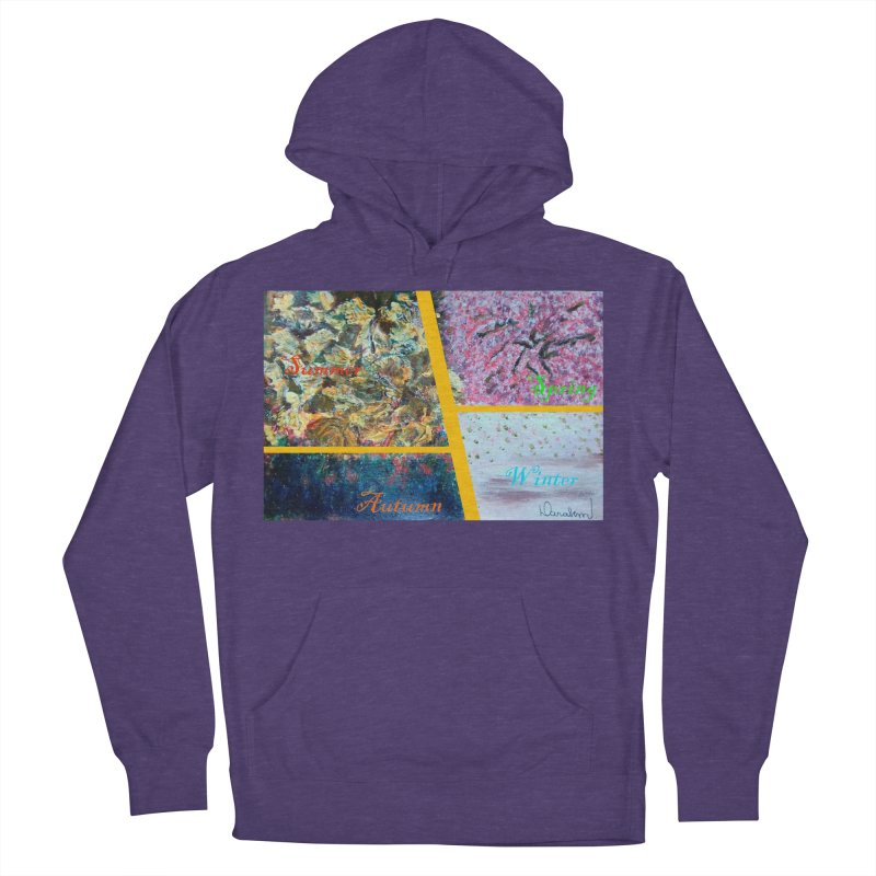The Four Seasons Matsuo Basho Men's French Terry Pullover Hoody by Darabem's Artist Shop. Darabem Collection