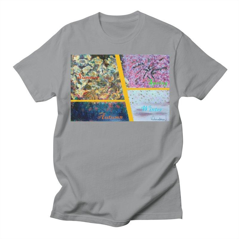 The Four Seasons Matsuo Basho Women's Regular Unisex T-Shirt by Darabem's Artist Shop. Darabem Collection